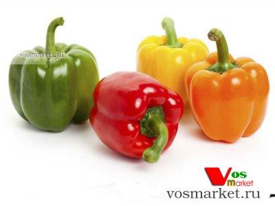 Четыре основные цвета сладкого болгарского перца