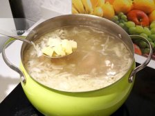 Фото приготовления Суп из консервированной фасоли