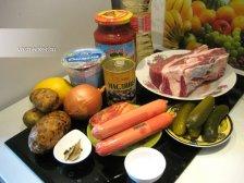 Фото к блюде Солянка сборная мясная