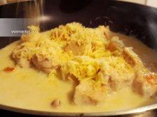 Фото приготовления Курица в сливочном соусе