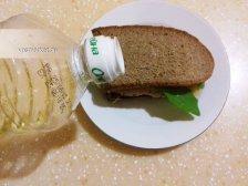 Фото к девятому шагу приуготовлению рецепта Горячие бутерброды