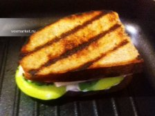 Фото к двенадцатому шагу приготовлению рецепта Горячие бутерброды