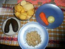 Фото к блюде Постный рассольник с перловкой