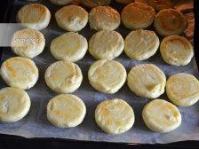 Фото приготовления Сырники из творога в духовке