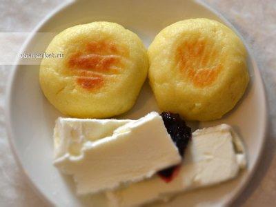 Главное фото рецепта Сырники из творога в духовке