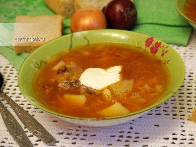 Главное фото рецепта Суп из консервированной фасоли