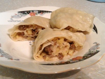 Главное фото рецепта Ханум - узбекский рецепт