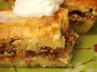 Главное фото рецепта Запеканка картофельная с фаршем