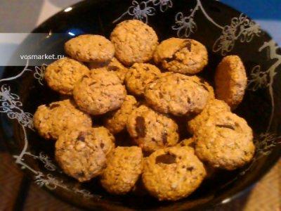 Главное фото рецепта Печенье из овсяных хлопьев