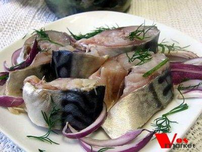 Главное фото рецепта Посол скумбрии