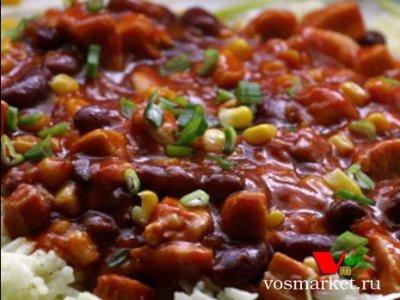 Главное фото рецепта Жареная красная фасоль