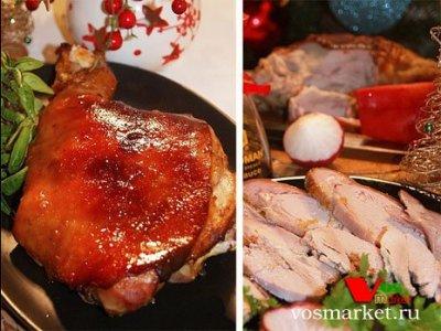 Главное фото рецепта Свиной окорок в духовке