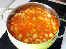 Фото к восьмому шагу приуготовлению рецепта Жаркое из свинины