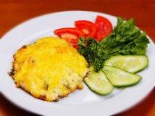 Фото к четвертому шагу приуготовлению рецепта Говядина с сыром и помидорами
