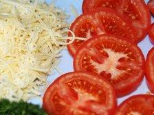 Фото приготовления Говядина с сыром и помидорами