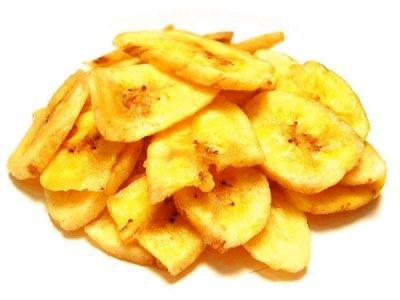 Главное фото рецепта Банановые чипсы в духовке
