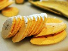 Фото приготовления Банановые чипсы в духовке