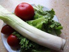 Промытые овощи
