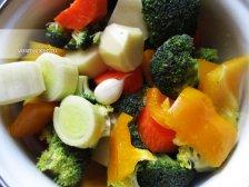 Фото к третьему шагу приуготовлению рецепта Суп из брокколи