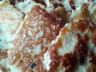 Главное фото рецепта Оладьи с яблоками