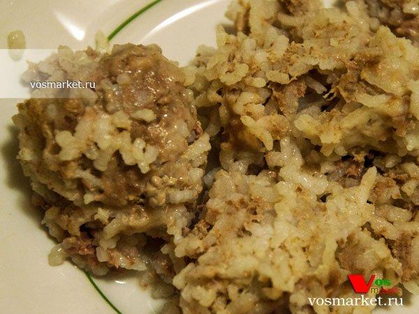 фарш с рисом рецепт