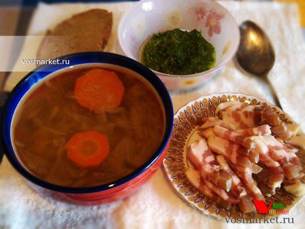 Фото готового блюда: Щи из квашеной капусты
