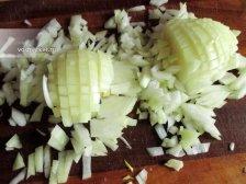 Фото к пятому шагу приуготовлению рецепта Домашние беляши