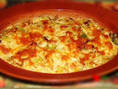 Главное фото рецепта Лук-порей под сыром