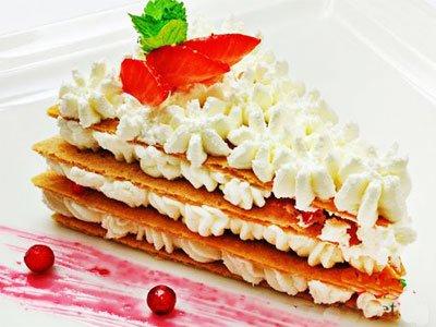 Главное фото рецепта Французский торт 'Мильфей'
