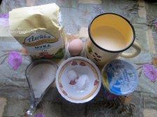 Ингредиенты для приготовления простого хвороста