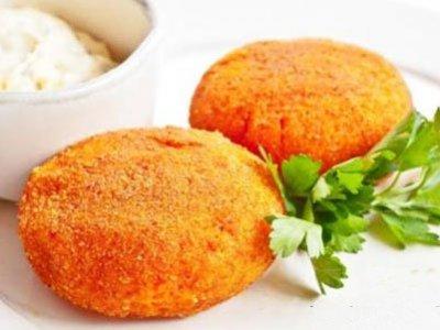 Главное фото рецепта Котлеты из моркови и творога