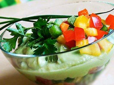 Главное фото рецепта Огуречный суп с авокадо