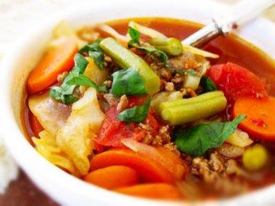 Главное фото рецепта Суп с фаршем
