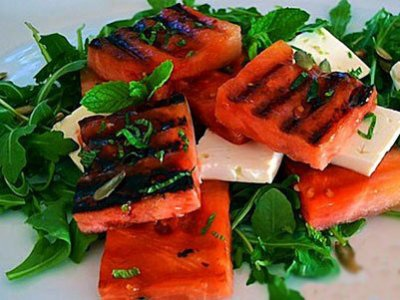 Главное фото рецепта Салат с жареным арбузом
