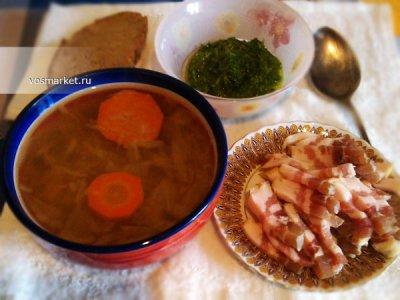 Главное фото рецепта Щи из квашеной капусты