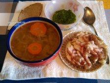Фото к седмому шагу приуготовлению рецепта Щи из квашеной капусты