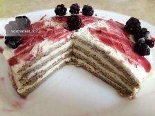 Фото к девятому шагу приуготовлению рецепта Банановый торт