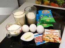 Ингредиенты для приготовления манника с творогом