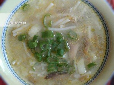 Главное фото рецепта Грибной суп из шампиньонов