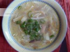 Фото к восьмому шагу приуготовлению рецепта Грибной суп из шампиньонов