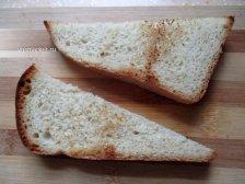 Фото к восьмому шагу приуготовлению рецепта Бутерброд с сыром и авокадо
