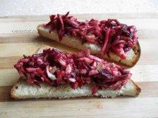 Фото к девятому шагу приуготовлению рецепта Бутерброд с сыром и авокадо