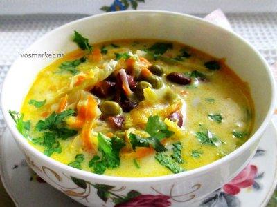 Главное фото рецепта Суп с плавленным сыром
