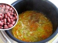 Фото к пятому шагу приуготовлению рецепта Суп с плавленным сыром