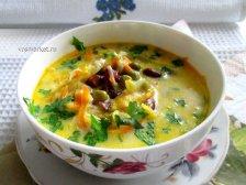 Фото к девятому шагу приуготовлению рецепта Суп с плавленным сыром