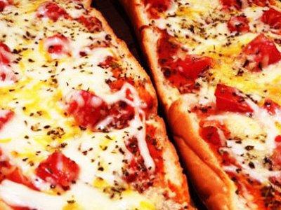 Главное фото рецепта Ленивая пицца из батона