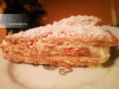 Главное фото рецепта Торт из печенья с бананом