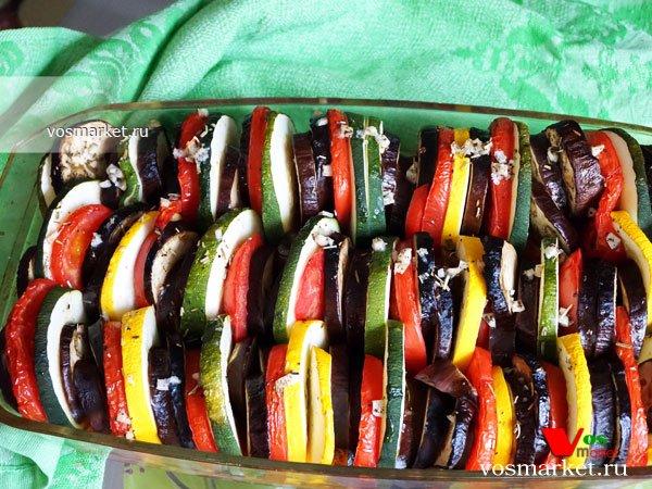 Фото готового блюда: Овощной рататуй