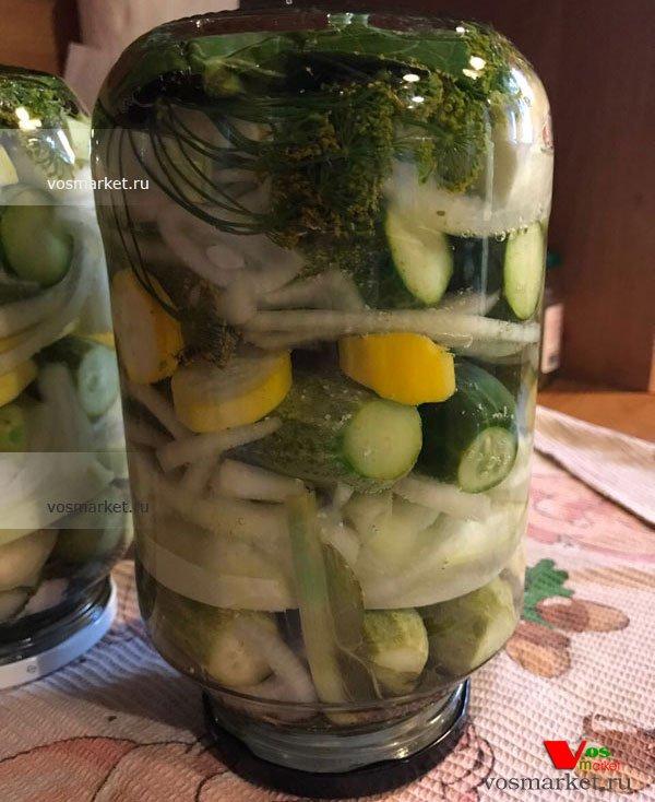 Фото готового блюда: Соленые огурцы на зиму