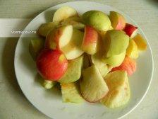 Фото к первому шагу приуготовлению рецепта Компот из яблок на зиму
